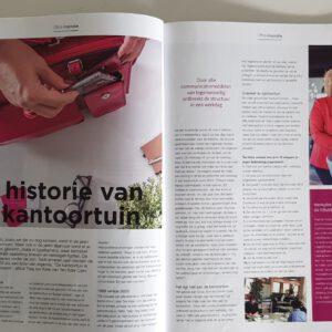 Trea ten Kate in Office magazine over de historie van de kantoortuin